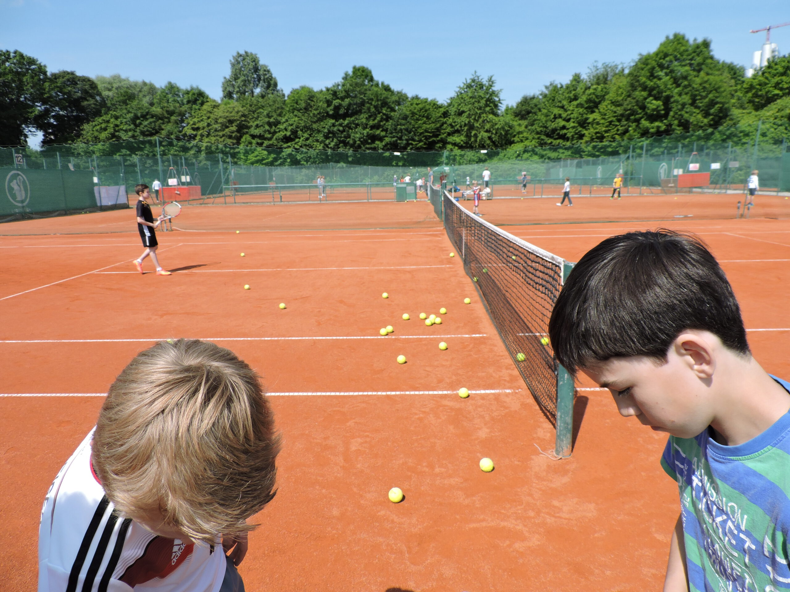 Tennis Kindertraining