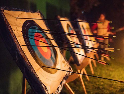 Teamevent Nacht-Bogenschießen von Teamgeist.com